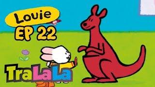 Louie - Louie, desenează-mi un cangur! (Ep. 22) Desene animate   TraLaLa