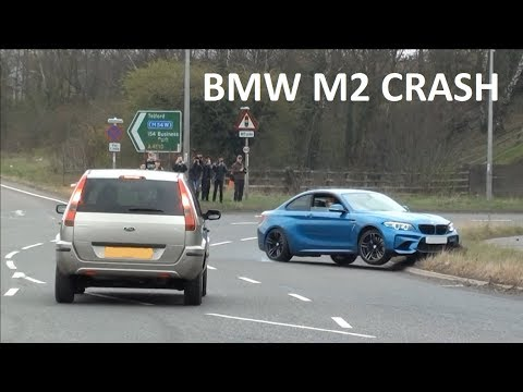 FAIL BMW M2 CRASHES AT A CAR SHOW
