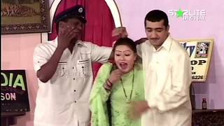 Zafri Khan, Nawaz Ajnum and Tahir Anjum New Pakistani Stage Drama Full Comedy Clip