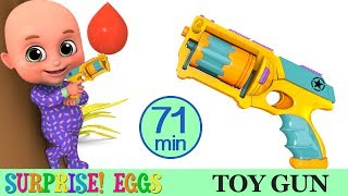 Kids Toys - Toy Gun | Surprise Egg Unboxing | Racing Car Videos and Many more from Jugnu Kids