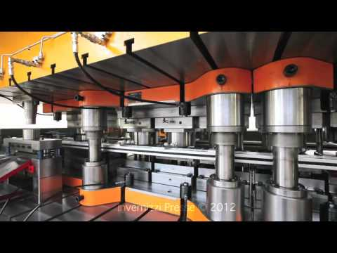 GNMLT 2 800 Invernizzi presse Transfer Press Deep Drawing Blech tiefziehen