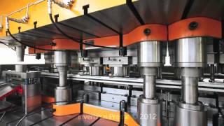 GNMLT-2 800 Invernizzi presse Transfer Press Deep Drawing - Blech tiefziehen