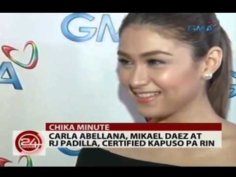 24Oras: Carla Abellana, Mikael Daez at RJ Padilla, certified Kapuso pa rin