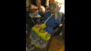 An Ole Time Footsie *Praise Break* this senior Mother loves Praising God