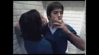 El Internado: Primo Bacio di Julia & Ivan.