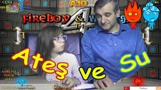 ATEŞ ve SU 4 - Bizce Bu En Eğlencelisi Ya Sizce - Eğlenceli Oyun Videosu - Funny Games
