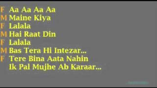 Tumse Milke Aisa Laga With Lyrics Vocal By Jiten Shakya