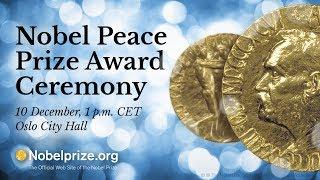 2017 Nobel Peace Prize Ceremony