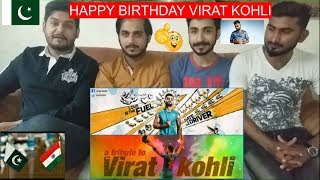 #ViratKohli Pakistani Reaction On Tribute to Virat Kohli | The Untold Story |PAK Review