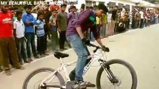 Bicycle stunts in Bangladesh 2015