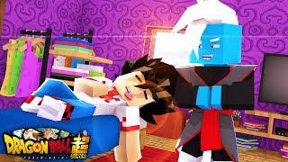 Minecraft Dragon Ball Super - SURPRESAS EM UM PLANETA DESCONHECIDO !!! EPISODIO 03