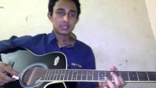 juboti radhe guitar lesson by Sabuj