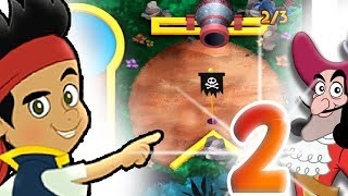 Puttin Pirates Never Land 2 | Jake and the Neverland Pirates online game for kids
