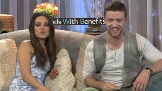 Justin Timberlake Naked On Set 'Friends With Benefits'
