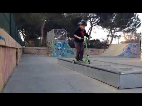 Dani Castellanos, 10 Best Scooter Tricks