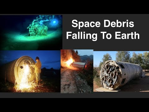 What Happens To Discarded Rocket Boosters And Old Satellites?