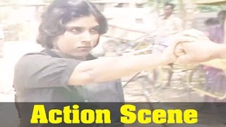 Kudumbam Movie : Sripriya, Action Scene