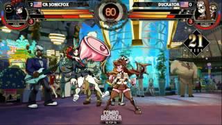 Skullgirls 2nd Encore Top 16 Tournament - Combo Breaker 2016 - Day 2