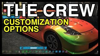 The Crew Car Customization Options Explored | WikiGameGuides