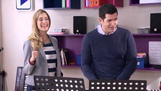 Violetta 3 - Vilu, Cami, Fran y Naty cantan Supercreativa