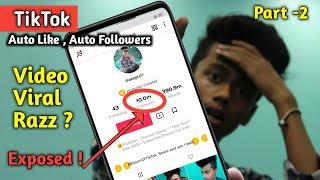 Tiktok Auto Follower Trick With Proof || How To Get Auto Likes On Tiktok || Part -2