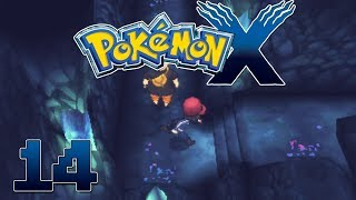 Let's Play Pokemon X Part 14  Reflection Cave - Gameplay Walkthrough