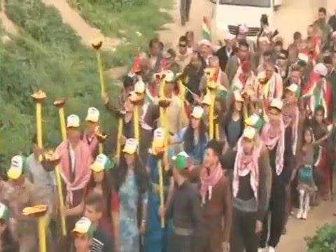 احتفالية نوروز في قرية سريشكة