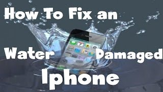 How to fix water damaged iPhone 6s/6s+/7/7Plus