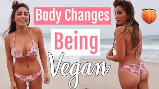 I went vegan and this is what happened//Bloating, Bigger booty