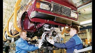 Lada Vaz (ВАЗ) 2107-04 Zavodu ve Yigilmasi