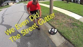 Pressure Wash Concrete - HOA Violator Video PT 3 - Curb Appeal