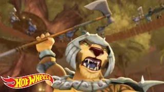 Battle Force 5™ Action Reel! | Hot Wheels