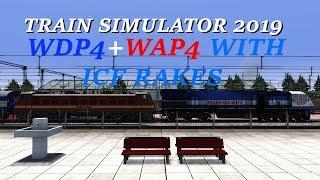 # TRAIN SIMULATOR 2019 (PC) WDP4 + WAP4 JOURNEY