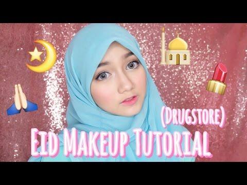 (DRUGSTORE) EID MAKEUP TUTORIAL FOR BEGINNER || Makeup Lebaran