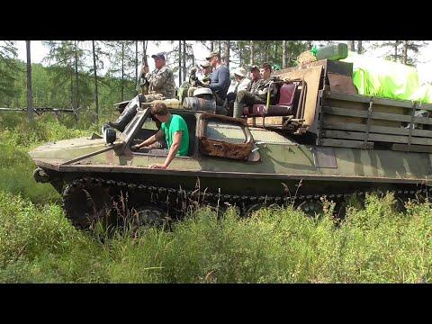 гусеничный транспортер для рыбалки