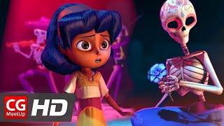 "CGI Animated Short Film ""Dia de los Muertos Short Film"" by Ashley Graham, Kate Reynolds, Lindsey St"