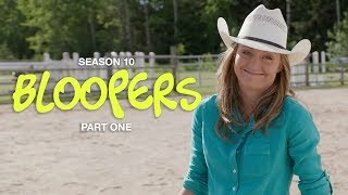 Heartland Season 10 Bloopers Part One
