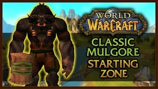 CAMP NARACHE - CLASSIC WOW REVISITED - TAUREN STARTING AREA 1.12.1