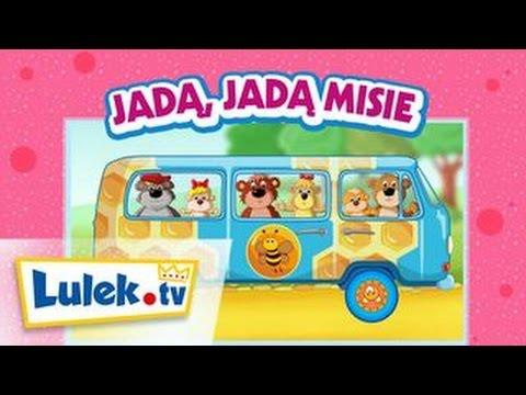 Piosenki dla dzieci Jadą jadą misie Lulek.tv