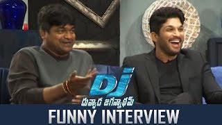 Allu Arjun and Harish Shankar Super Funny Interview About DJ Duvvada Jagannadham | Hilarious | TFPC