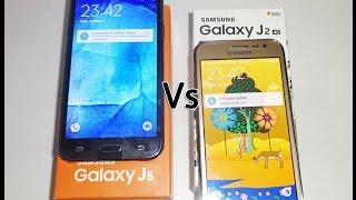 Samsung Galaxy J2 Vs Samsung Galaxy J5