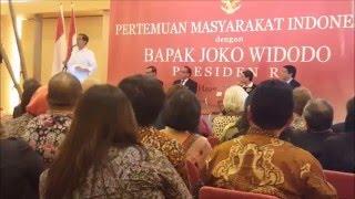 Pidato Presiden RI Bpk. Joko Widodo di Nederland.Up 1 By Wahyu Koen