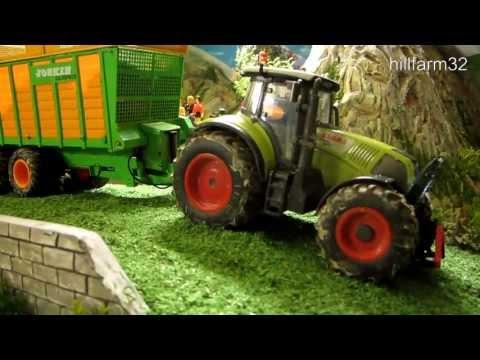 RC TRACTOR Case IH Fendt Claas &John Deere AMAZING R C FARMING ACTION