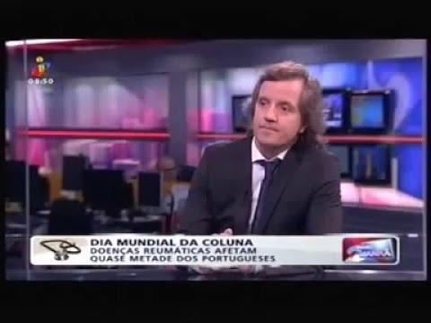 Dr. Luis Teixeira em entrevista à TVI