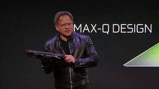 NVIDIA Press Event at CES 2018 with NVIDIA CEO Jensen Huang