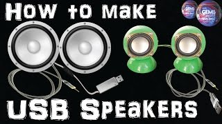 How To Make USB Speakers Using Plastic Cadbury Gems Candy Surprise Ball At Home Easy Way-Recycle