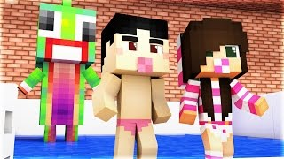 Minecraft - WHO'S YOUR DADDY? - BABY KILLS DADDY!
