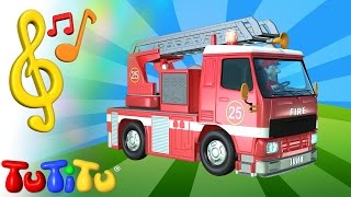 TuTiTu Toys and Songs for Children | Fire Truck