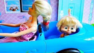 bajka Masza i Niedźwiedź po polsku Barbie szuka Maszę się zgubiła