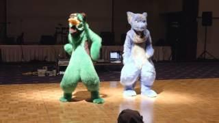 JMoF 2016 Dance Competition - 04 - M&L (Mincho & Linus)